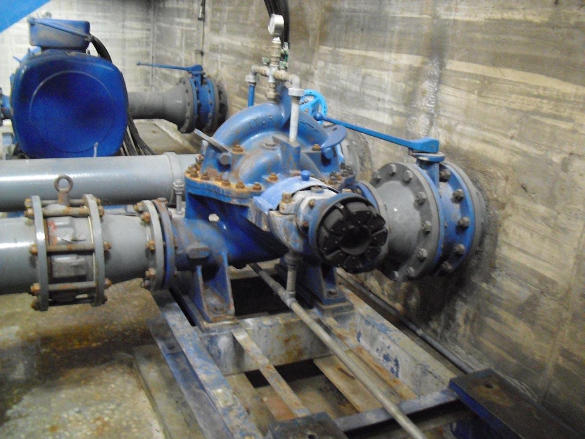 Reparació i bobinatge de motor de 160kW d'Aigües de Vic