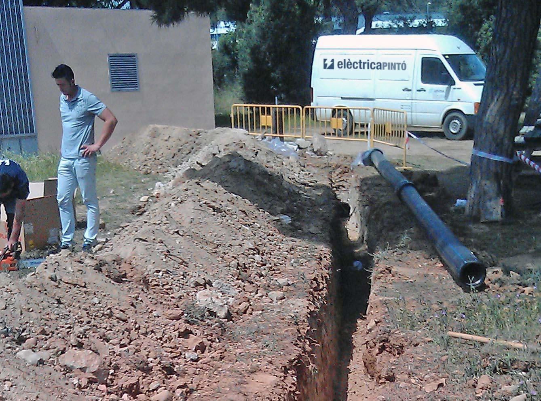 Ampliació de la captació de bombeig de Can Cabanyes a Granollers