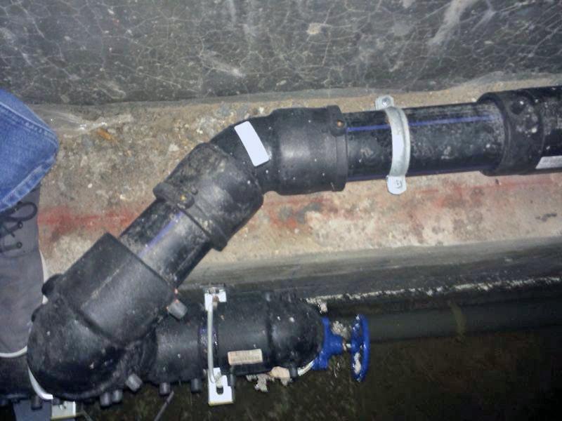 Manteniment correctiu - Buidat d'aigua parking Hospitalet del Llobregat
