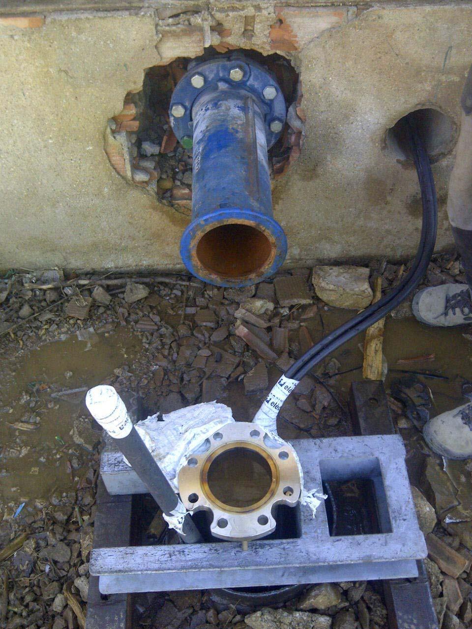 Subministre de canonada INOX.304 per a a Subirats