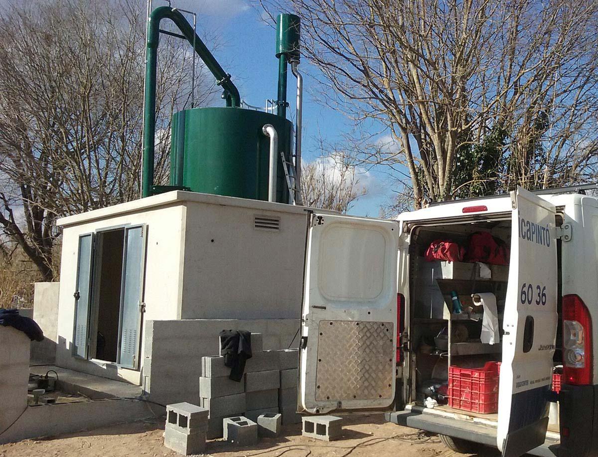 ETAP tractament de ferro-manganès a pous a Sant Sadurní d'Anoia