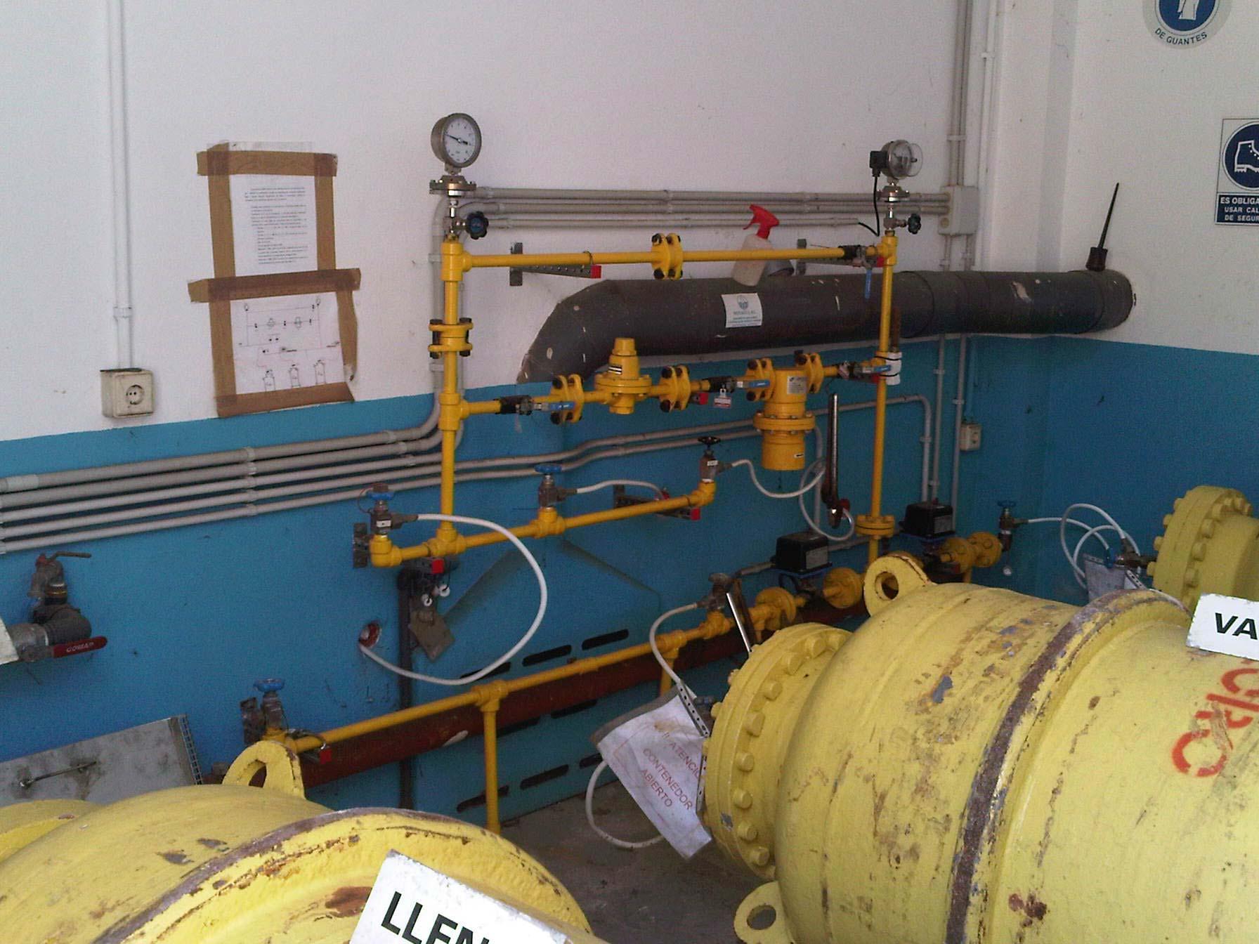 Manteniment preventiu instal·lació ETAP Corrales de Buelna