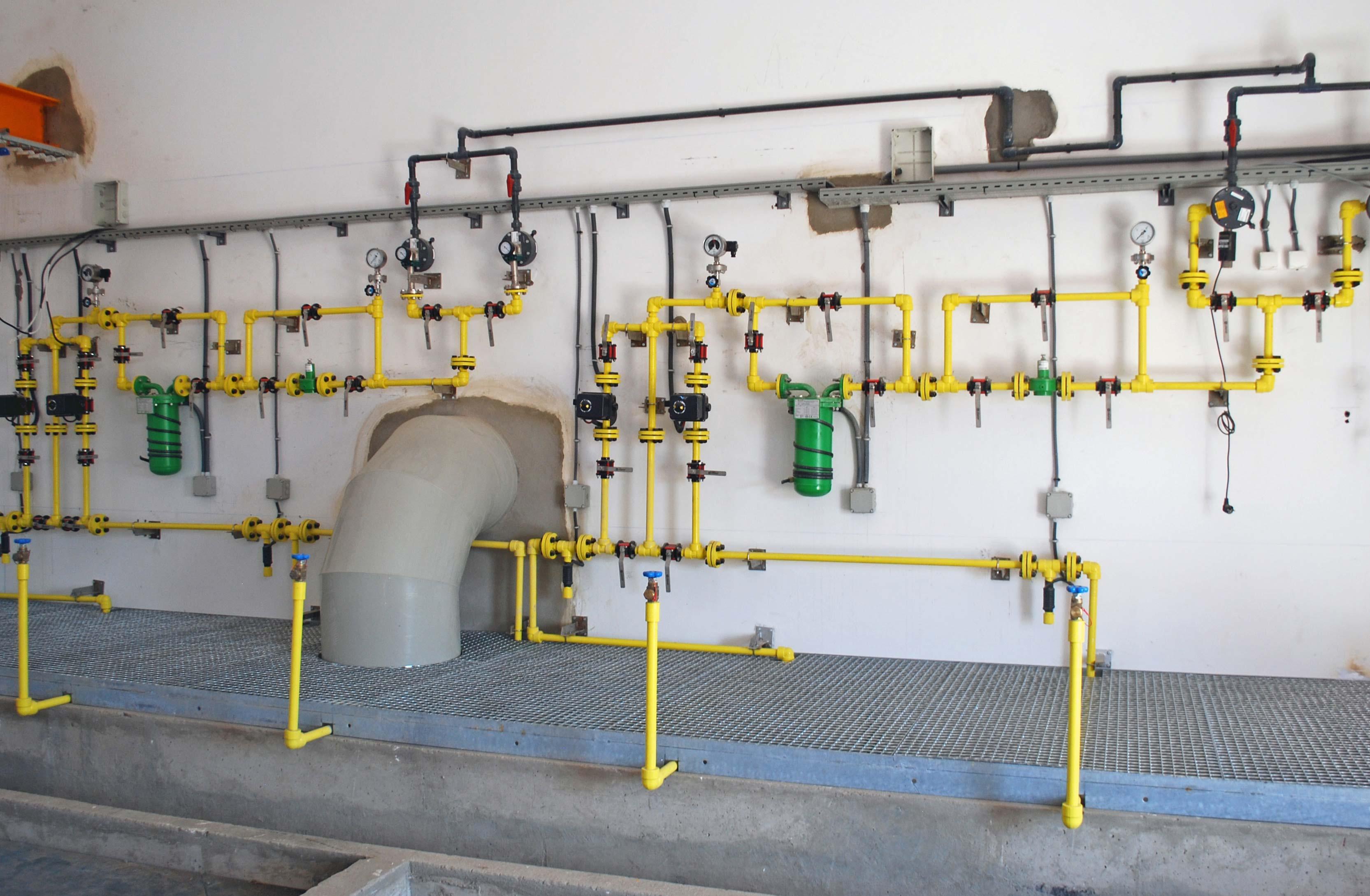 Dosificació de clor gas