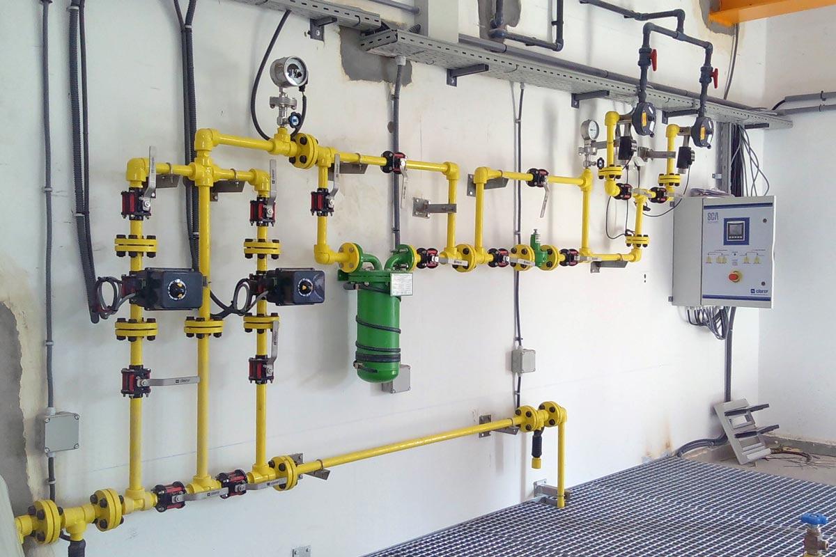 Dosificació de clor gas a Midelt