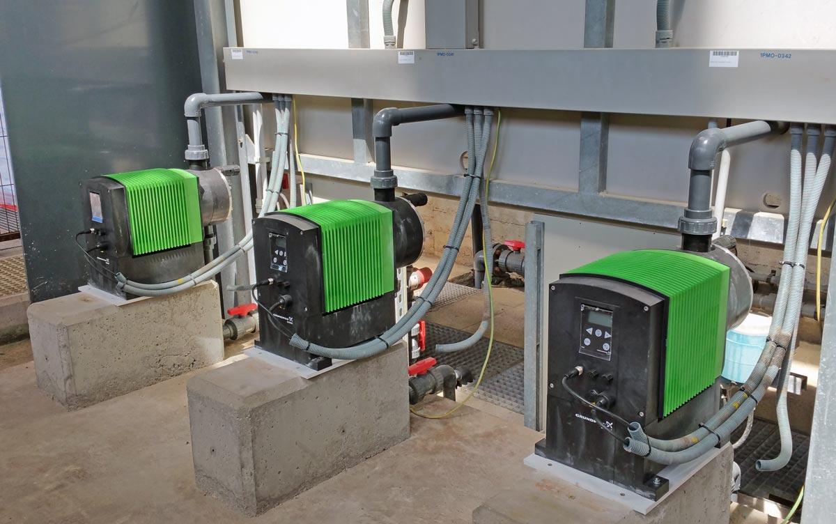Replacement of PAC dosing pumps in the Llobregat ETAP