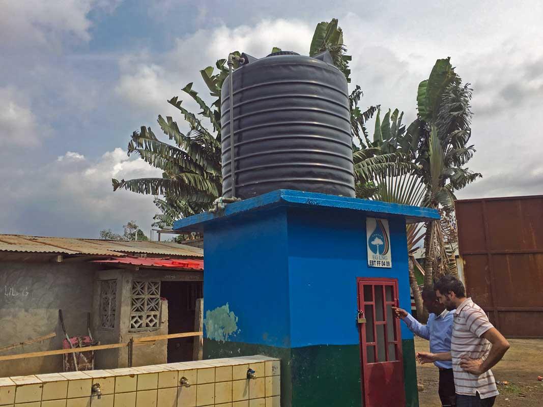 Equipament de pous a Malabo