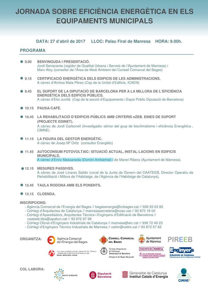 Jornades Ecoviure 2017