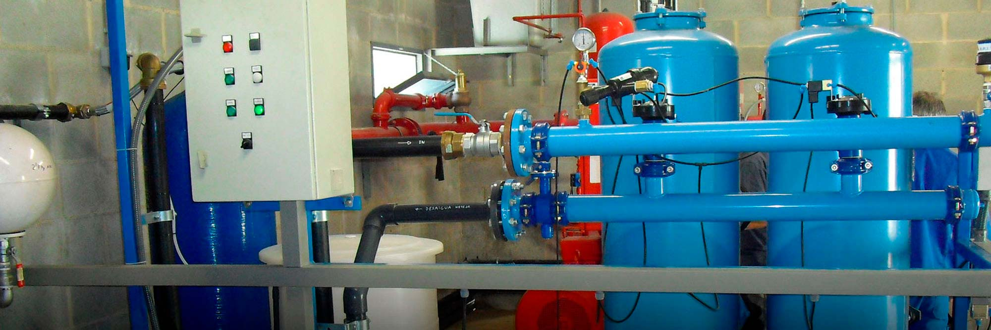 Instal·lacions d'aigua