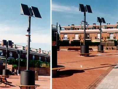 Enllumenat Públic LED Fotovoltaic
