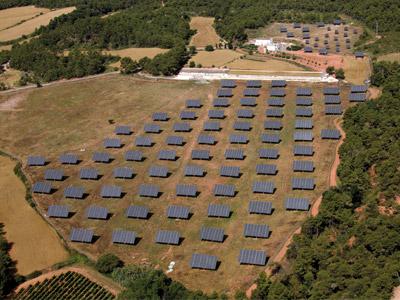 Instal·lació Camp Solar Fotovoltaic