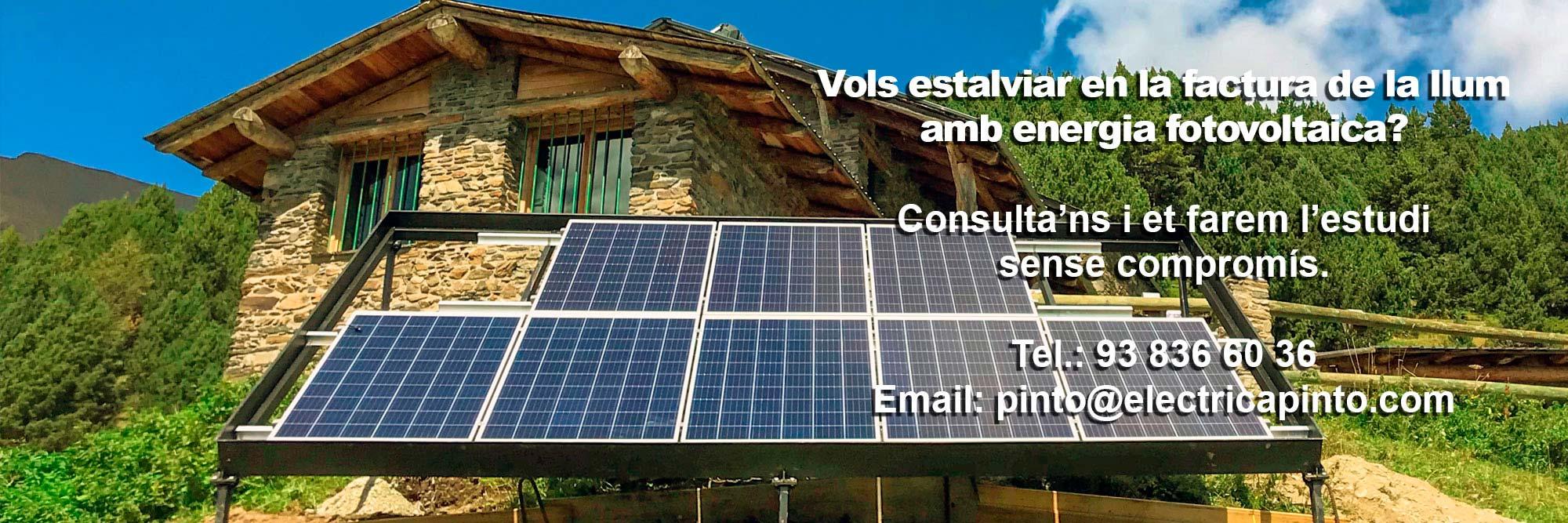 Instal·lacions Fotovoltaiques