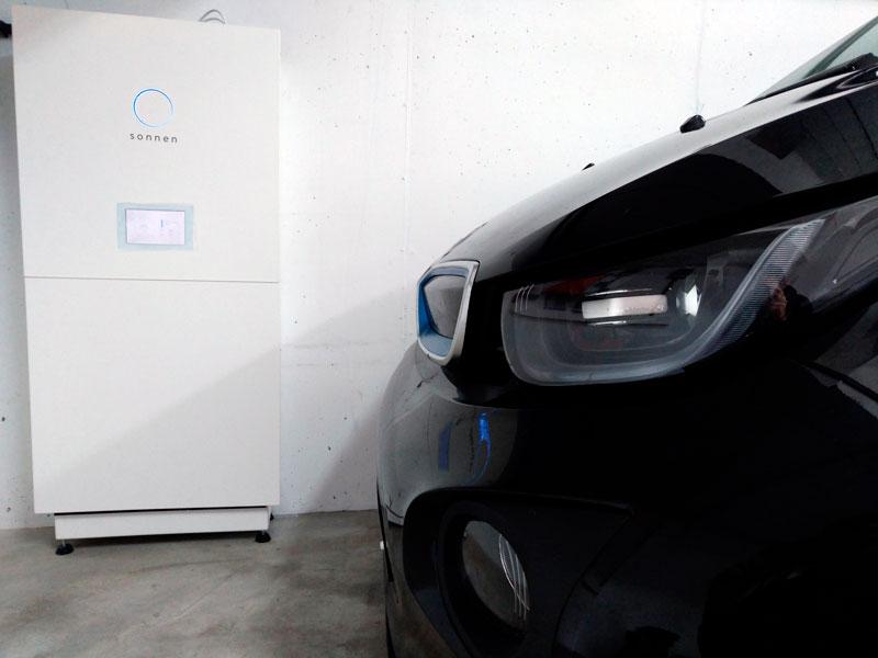 Autoconsum fotovoltaic de 5'5kW amb bateria SONNENBATTERIE