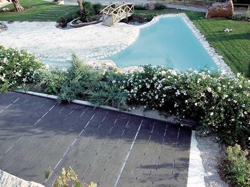 Captadors escalfament de piscina
