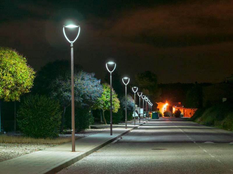 Enllumenat públic LED