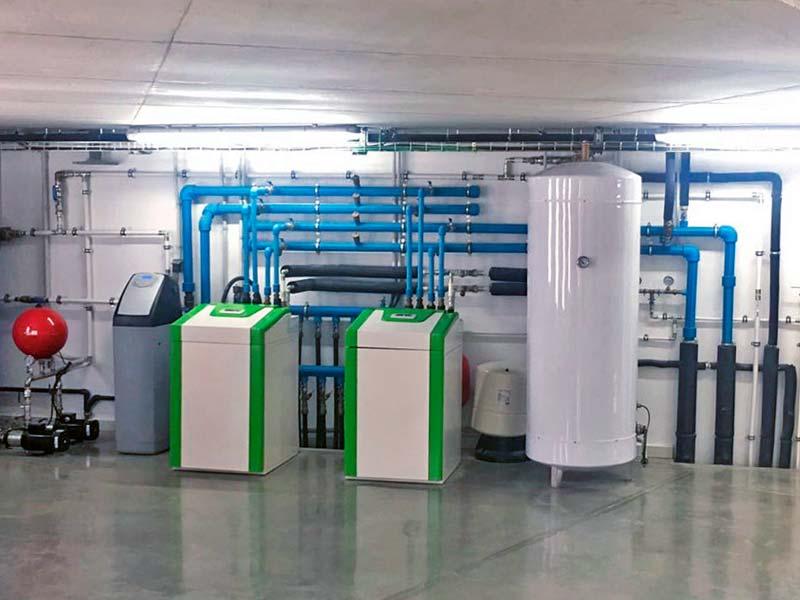 Sala Tècnica de Geotèrmia