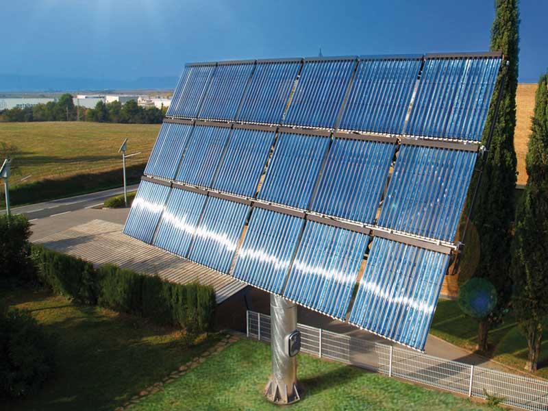 Seguidor solar tèrmic