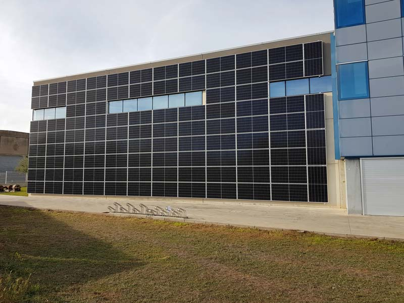 34kW SABEMSA photovoltaic installation